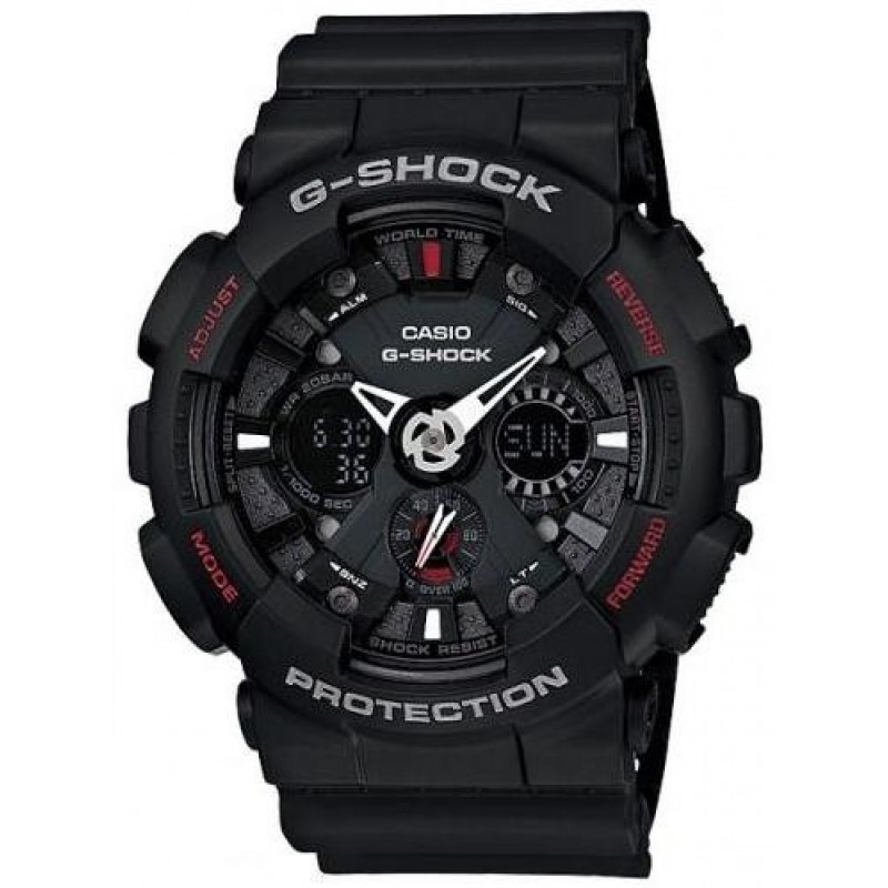 Часы CASIO G-SHOCK GA-120-1AER