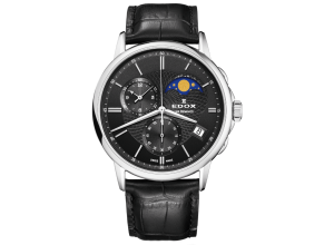 EDOX 01651 3 NIN LES BÉMONTS CHRONOGRAPH MOON PHASE