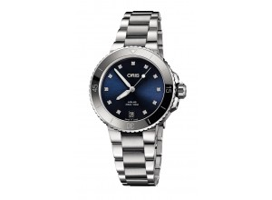 Часы Oris Diving Aquis Date Diamonds 733.7731.4195.MB 8.18.05P