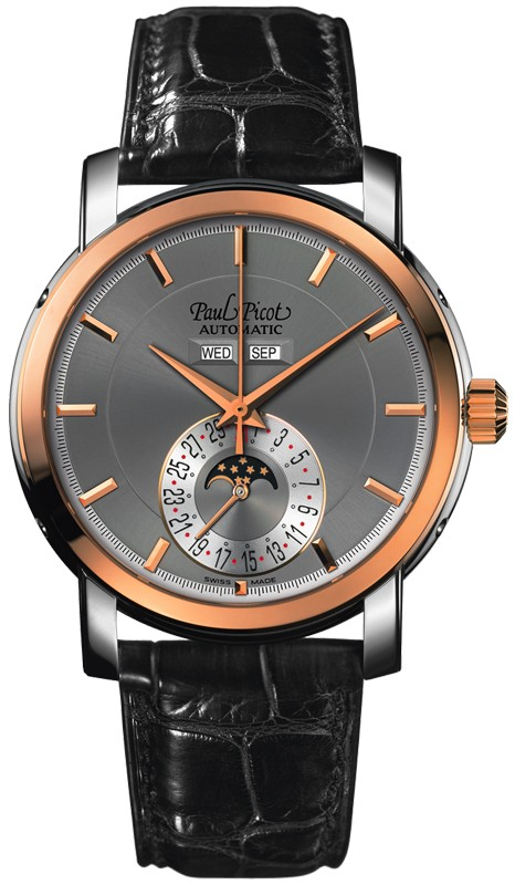 Paul Picot Firshire Ronde Moon Phase P0459 SRG 1022 8604