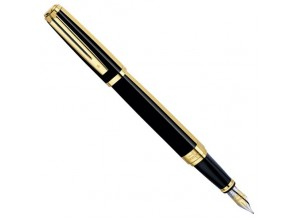 Перьевая ручка Waterman Exception Night/Day Gold GT 11 025