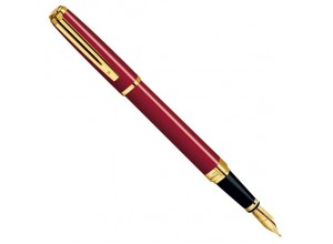 Перьевая ручка Waterman Exception Slim Red GT 11 031