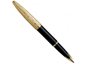 Перьевая ручка Waterman Carene Deluxe Essential Black GT 11 204